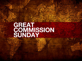 GREAT COMMISSION SUNDAY