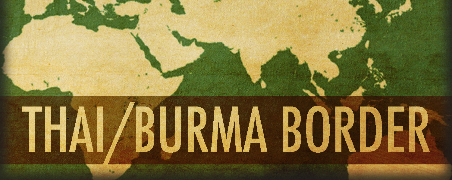 NEW BANNER THAI-BURMA BORDER